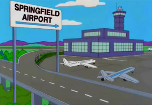 Springfield International Airport Simpson Wiki En