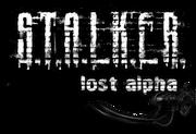 Lost alpha logo
