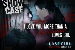 Lost Girl - Showcase Valentine's Day 2013 (Bo & Lauren)