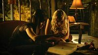 Kenzi and Tamsin use Trick blood (409)