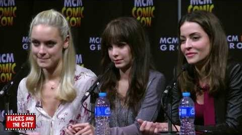 Lost Girl - MCM Expo London 2013 (Solo, Vaugier, Skarsten, Firestone)
