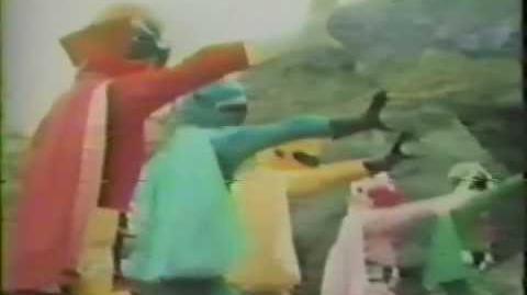 Star Ranger (Lost Gorenger English Dub 1978)