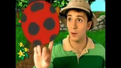 Blue's Clues Rare Japanese Ad