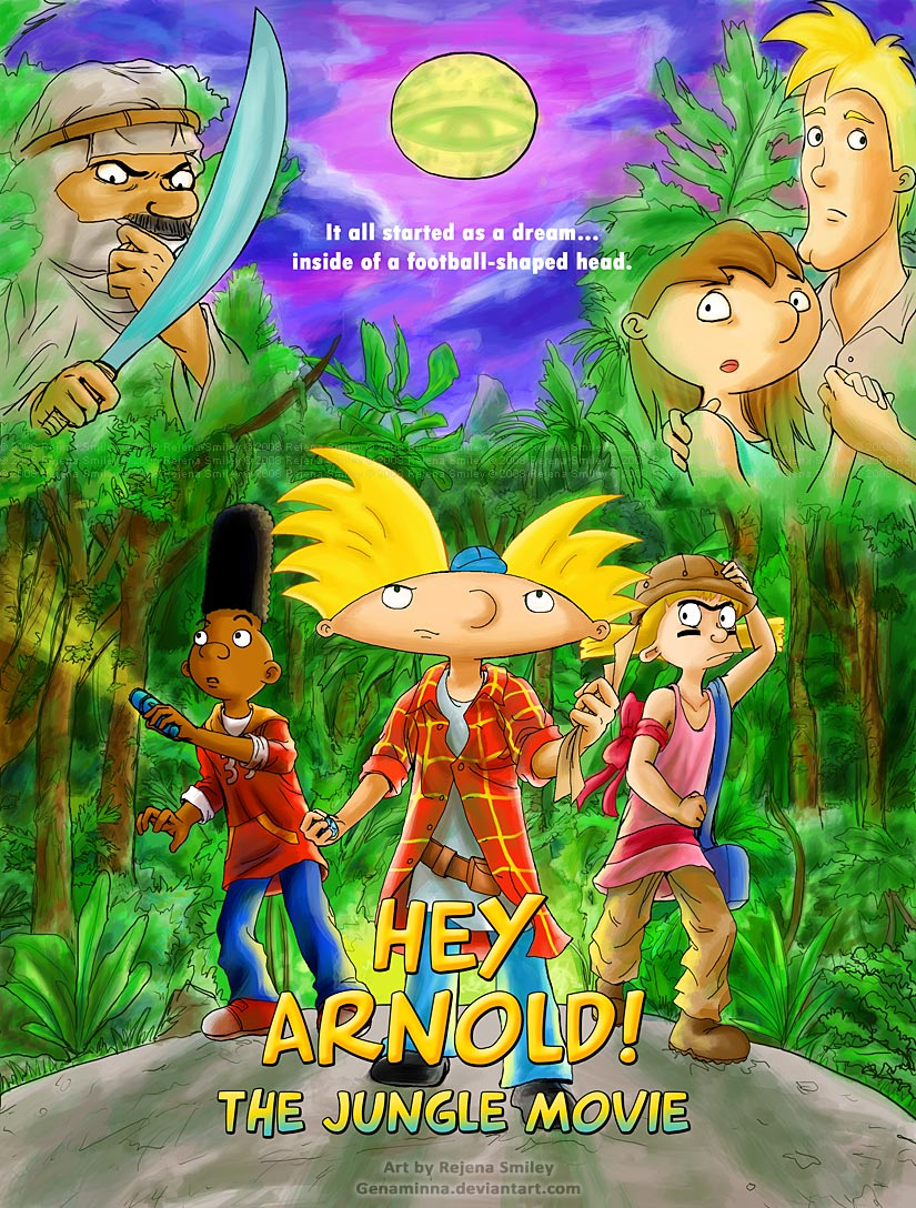 Hey Arnold The Jungle Movie Craig Bartlett