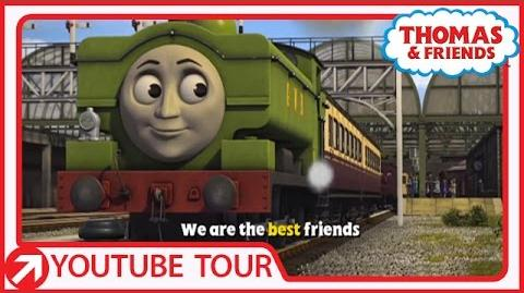 That's What Friends Are For - Karaoke Song Thomas & Friends