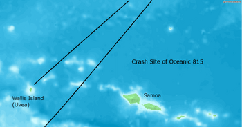 Crash Site of Oceanic 815 02