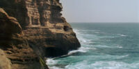 Cliffside cave