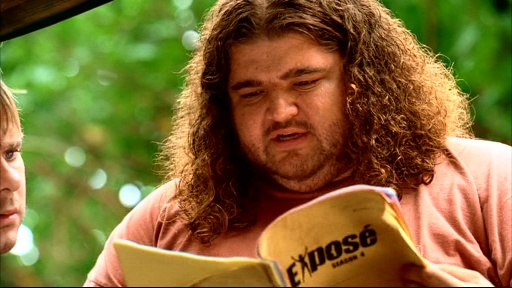 File:3x14 Hurley reading script.jpg