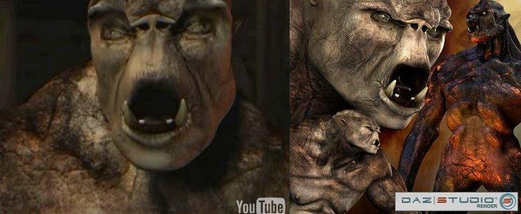 Limbo-daz-troll
