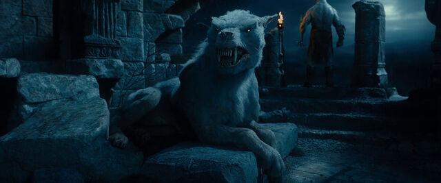 File:White warg hobbit.jpg