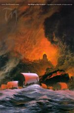 Ted Nasmith - The Ships of the Faithful