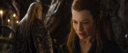 Desolation - Tauriel and Thranduil