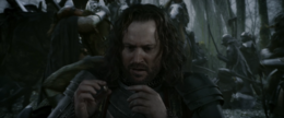 Isildur tries to use One Ring