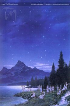 Ted Nasmith - At Lake Cuiviénen