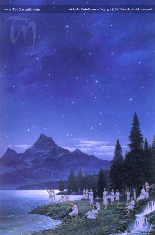 File:Ted Nasmith - At Lake Cuiviénen.jpg