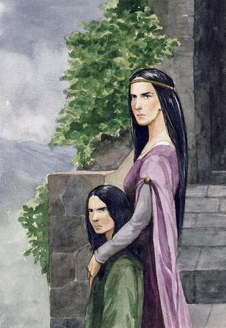 File:Morwen and Turin by Filat.jpg