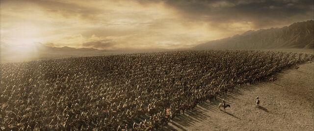 File:The battle of the Pelennor Fields.jpg