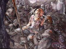 Jenny Dolfen - Maedhros captured by Orcs
