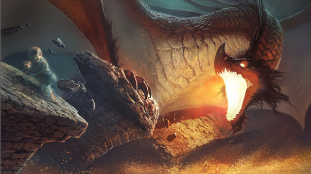 File:Smaug the Golden - The Hobbit.PNG