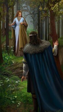 Steamey - A silvan elf Mithrellas and Imrazor the Numenorean