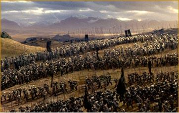 Orcs march to Minas Ithil