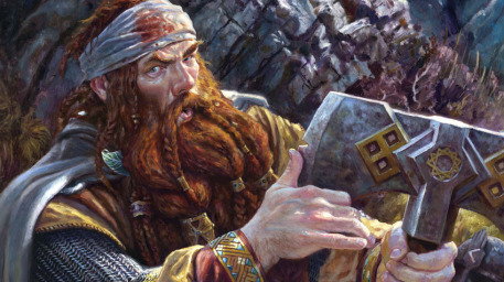 File:R169 457x256 12678 Forty Two 2d fantasy portrait axe lord of the rings dwarf warrior picture image digital art.jpg