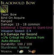 BlackwoldBow