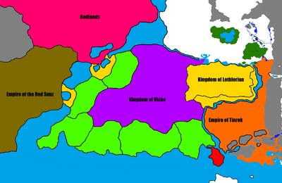 Lothlorian - Headrok War New aftermath