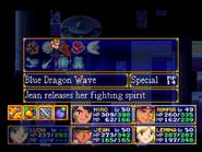 Blue Dragon Wave Menu