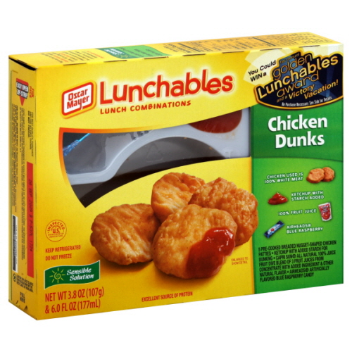 Chicken Dunks on oscar mayer lunchables nachos