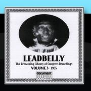 Lead Belly - Leadbelly Arc & Library of Congress Recordings Vol. 3 (1935)
