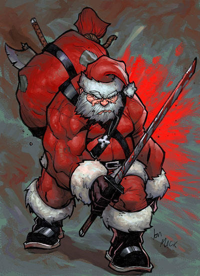 Image result for marvel santa claus