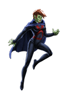 Young Justice Superboy And Miss Martian Get Back Together Image - Miss Martian-Y...