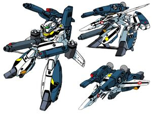 VF1S-Strike Fighter-GERWALK-Battroid
