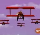 Die Flugzeuge der Pinguine