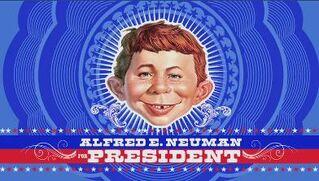Alfred e. neuman for president