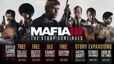 Mafia III DLC Release Dates