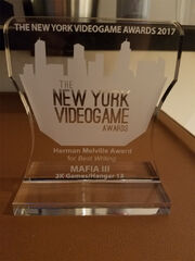 Mafia III Best Writing Award