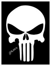 How-to-draw-the-punisher-skull