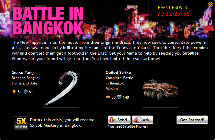 Battle In Bangkok