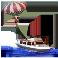 Huge item parasailingboat 01