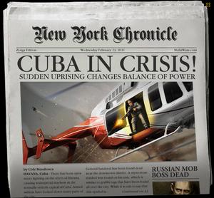 Cuba In Crisis Newspaper
