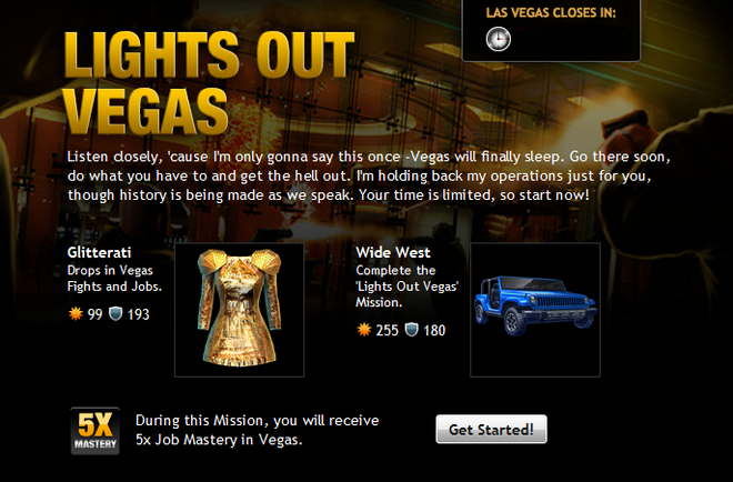 Lights Out Vegas Info