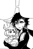 Baby Pisti in Sinbad's arms