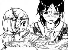 Pisti and Hakuryuu