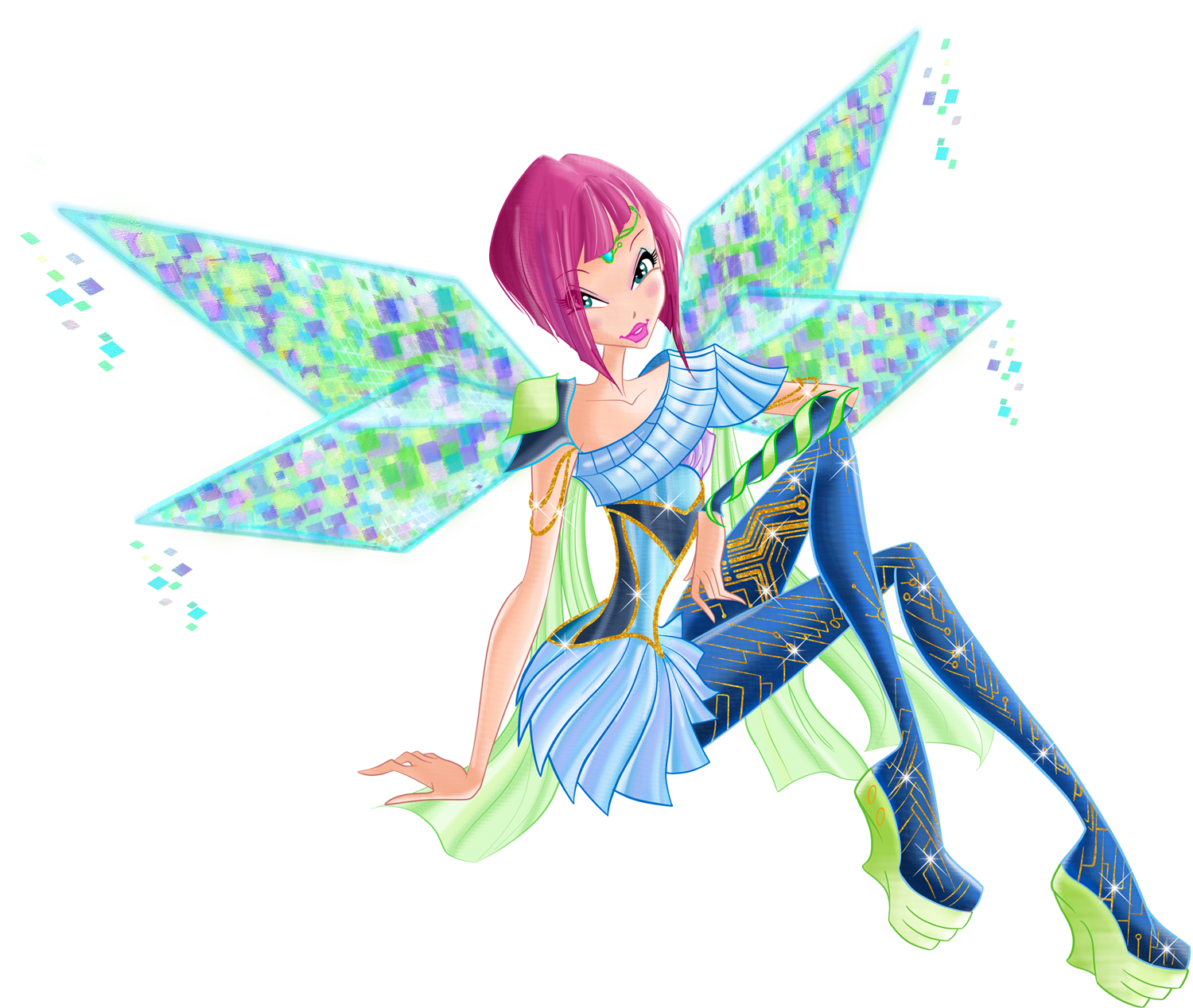 Image winx club tecna bloomix magical girl - Winx magic bloomix ...