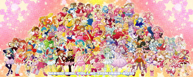 Magical-girl-1966-2010-crossover