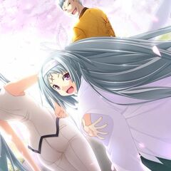 Monshiro, Ageha and Hideo- Amongst the Cherry Blossoms (Majikoi A-2)