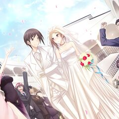 Azumi happily married to Yamato (Azumi Route- Majikoi A-1)