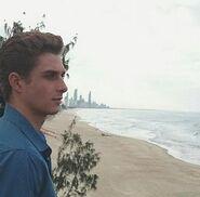 Erik on beach